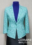 Пиджак Muray&Co м.2538-920 р.38-46(44-52) зеленый