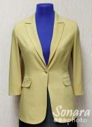 Пиджак Muray&Co м.2736-857 р.40-48(46-54)  желтый