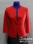 Пиджак Muray&Co м.2847-970 р.38-46(44-52) красный