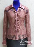 Блузка Fellinaz м.121 р.2-6(44-52) бежев,красн,розов,черный