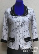 Блузка Fellinaz м.214 р.2-4(44-48) белый