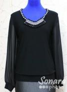 Блузка Fomanta м.3027 р.44(50) черный