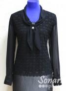 Блузка Fellinaz м.36 р.2-6(44-52) черный