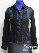 Блузка Fellinaz м.37 р.2-6(44-52) черный