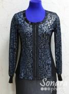 Блузка Fellinaz м.489 р.2-6(44-52) синий