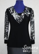 Блузка Fellinaz м.648 р.2-6(44-52) черный