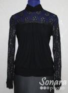 Блузка Fellinaz м.92 р.2-6(44-52) черный