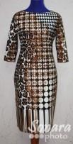 Платье Reva&Ro м.2473 р.42-46(48-52) коричневый