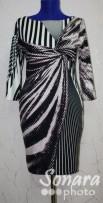 Платье Reva&Ro м.2844 р.36-40(42-46) коричневый