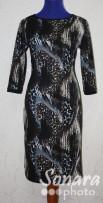 Платье Reva&Ro м.2490 р.44-48(50-54) корич,черный