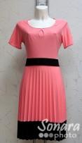 Платье Reva&Ro м.7241 р.38-42(44-48) розовый