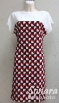 Платье Reva&Ro м.7295 р.36,38(42,44) красный