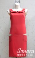 Платье Reva&Ro м.7298 р.36-40(42-46) розовый