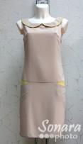 Платье Reva&Ro м.7298 р.36-40(42-46) бежевый