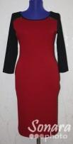 Платье Reva&Ro м.7391 р.36-40(42-46) красный