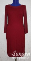 Платье Reva&Ro м.7392 р.36-40(42-46) бордо,розовый