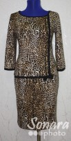 Платье Reva&Ro м.7427 черный р.36-38(42-44) черный