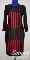 Платье Reva&Ro м.7462 р.36-40(42-46) белый,красный