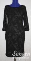 Платье Reva&Ro м.7467 р.36-40(42-46) коричневый