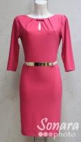 Платье Reva&Ro м.7486 р.40,42(46,48) розовый
