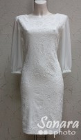 Платье Reva&Ro м.7500 р.40(46) белый