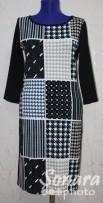 Платье Reva&Ro м.7504 р.36-40(42-46) черный
