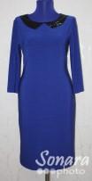 Платье Reva&Ro м.7606 р.36-40(42-46) синий
