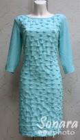 Платье Reva&Ro м.7551 р.36-42(42-48) зеленый