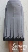 Юбка Fomanta м.1940 дл.65 р.44,46(50,52) серый