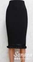 Юбка Fomanta м.2526 дл.65 р.44-50(50-56) черный