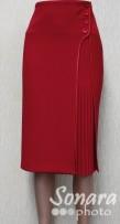 Юбка Fomanta м.2742 дл.65 р.44-50(50-56) красный