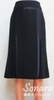Юбка Fomanta м.301 дл.65 р.42(48) черный,800руб.