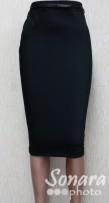Юбка Fomanta м.6780 дл.65 р.44-50(50-56) чёрный